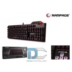 Klawiatura RAMPAGE HYDRA R6 Mechaniczna Blue Switch Dla Graczy