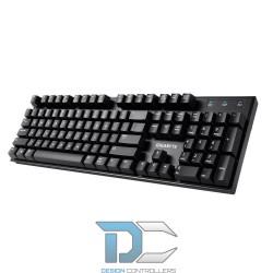 Klawiatura Gigabyte FORCE K83 Black, Cherry MX, USB 2.0