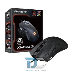 Mysz przewodowa Gigabyte XM300 optyczna USB czarna