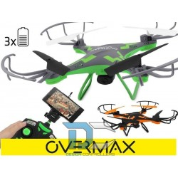 Dron Overmax 3.1 Plus, Wifi Overmax grey green