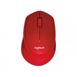 Mysz bezprzewodowa Logitech M330 Silent Plus Czerwona