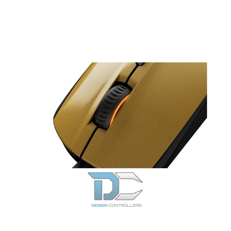 mysz steelseries rival 100 alchemy gold 5707119028806. Black Bedroom Furniture Sets. Home Design Ideas