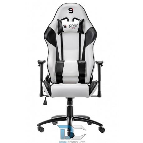 Fotel dla gracza SILENTIUM PC SR300 RD, CZERWONY