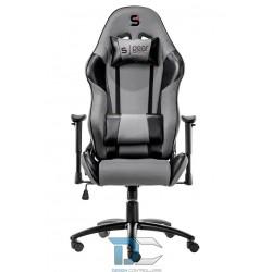 Fotel dla gracza SILENTIUM PC SR300 szary