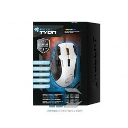 Mysz laserowa przewodowa Roccat Tyon white