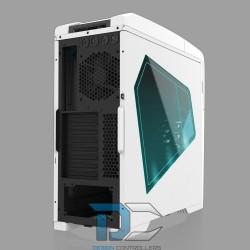 ATX AZZA TAURUS 5000, 2xUSB 2.0, 2xUSB 3.0, BEZ ZASILACZA, Biały