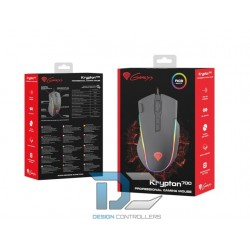 Mysz przewodowa optyczna Genesis Krypton 700 7200DPI dla graczy