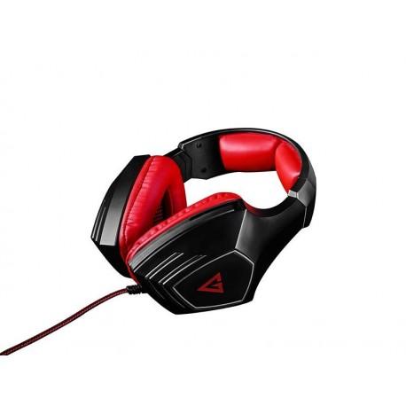 Słuchawki nauszne z mikrofonem MODECOM MC 831 VOLCANO RAGE czerwone