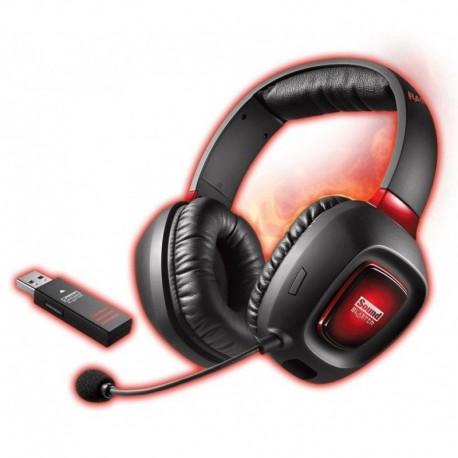 Słuchawki nauszne bezprzewodowe z mikrofonem Creative Sound Blaster Tactic3D Rage Wireless V2.0 czarne