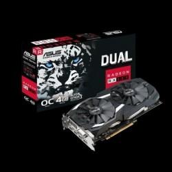 Karta VGA Asus RX 580 Dual fan OC 4GB GDDR5 256bit DVI+2xHDMI+2xDP PCIe3.0