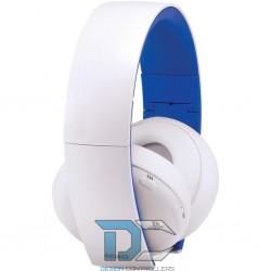 PS4 Wireless Stereo Headset white - słuchawki do PS4