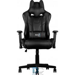 Aerocool Fotel Gamingowy AC-220 BLACK / BLACK