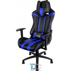 Aerocool Fotel Gamingowy AC-120 BLACK / BLACK