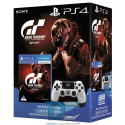 PS4 Dualshock Controller GT Sport + Gran Turismo Sport game Limited edition