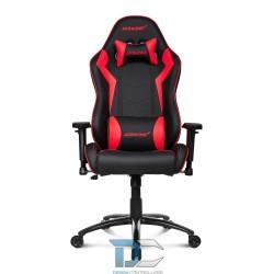 Fotel dla gracza AKRACING Core SX – Czarny/Czerwony