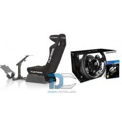 Fotel dla gracza Playseat Evolution Pro Alcantara + KIEROWNICA THRUSTMASTER T-GT Z GRĄ