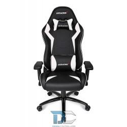 Fotel dla graczy AKRACING Core SX – Czarny/Biały
