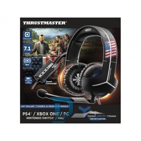 Słuchawki nauszne THRUSTMASTER Y-350CPX 7.1 z mikrofonem FAR CRY 5 EDITION