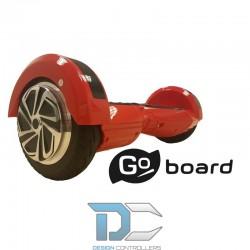 """Deskorolka elektryczna GoBoard 8"""" - czerwona"""