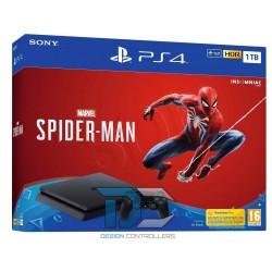 Konsola Playstation 4 Sony 1TB Slim + Spider Man (HDD 1TB)