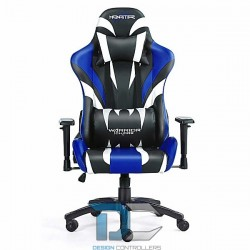 Fotel dla gracza Monster - Blue Warriors Chair