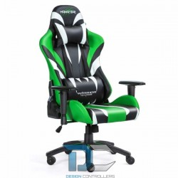 Fotel dla gracza Monster - Green Warriors Chair