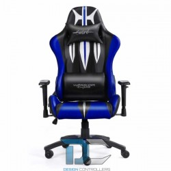 Fotel dla gracza - Warriors Chair -Sword Blue - Warriors Chair