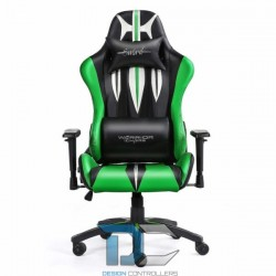 Fotel dla gracza - Warriors Chair - Sword Green - Warriors Chair