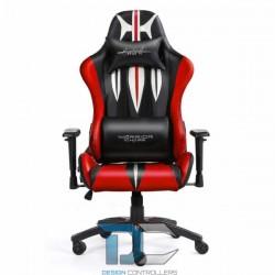 Fotel dla gracza - Warriors Chair -Sword Green