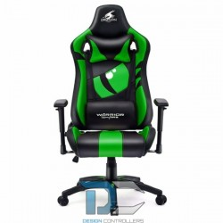 Fotel dla gracza Dragon GREEN Warrior Chair