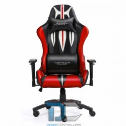 Fotel dla gracza - Warriors Chair -Sword Red - Warriors Chair POWYSTAWOWY