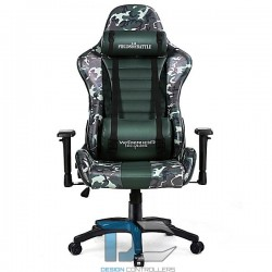 Fotel dla gracza - Fields of Battle FOREST CAMOUFLAGE Warriors Chair