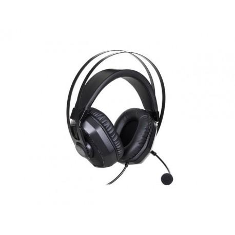 Słuchawki z mikrofonem Cooler Master MasterPulse MH320 czarne