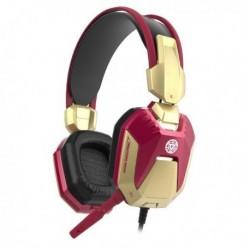 Słuchawki z mikrofonem E Blue Iron Man Gaming czerwone