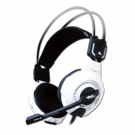 Słuchawki z mikrofonem E BLUE Mazer Type X 7.1 białe