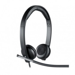 Słuchawki z mikrofonem Logitech USB Headset H650e Stereo