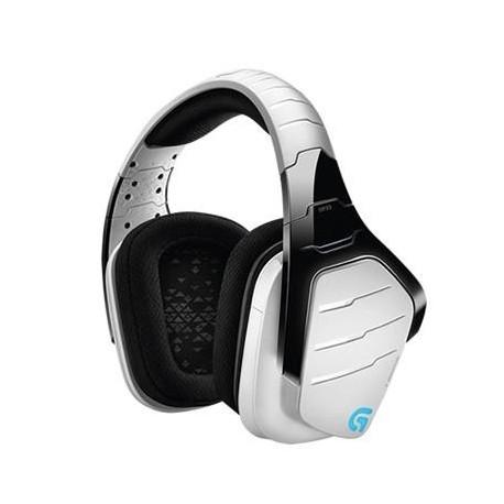 Słuchawki z mikrofonem Logitech G933 bezprzewodowe białe