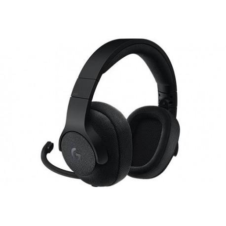 Słuchawki z mikrofonem Logitech G433 Gaming czarne