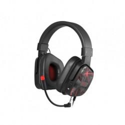 Słuchawki z mikrofonem Genesis Argon 570 Gaming czarno czerwone