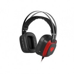 Słuchawki z mikrofonem Genesis Radon 720 Gaming Virtual 7.1 LED czarno czerwone