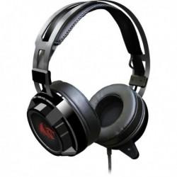 Słuchawki z mikrofonem Redragon SIREN Gaming czarno czerwone