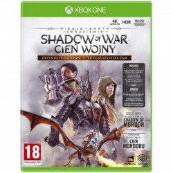 Middle earth: Shadow of War (Śródziemie: Cień Wojny) Definitive Edition (XBOX One)