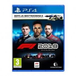 F1 2018 Edycja Mistrzowska (PS4)