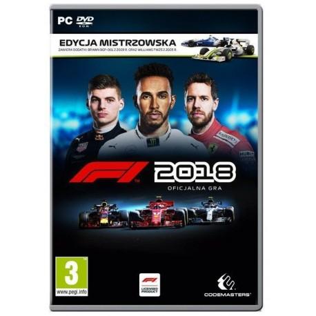 F1 2018 Edycja Mistrzowska (PC)