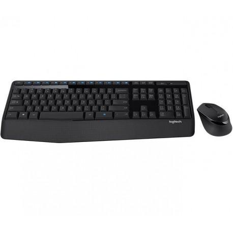 Zestaw bezprzewodowy klawiatura + mysz Logitech Wireless Combo MK345 czarny
