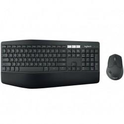 Zestaw bezprzewodowy klawiatura + mysz Logitech MK850 Performance czarny
