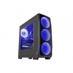 OBUDOWA GENESIS TITAN 750 BLUE MIDI TOWER (Z OKNEM, REG. OBR., USB 3.0, BEZ PSU)