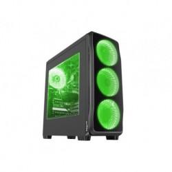 OBUDOWA GENESIS TITAN 750 GREEN MIDI TOWER (Z OKNEM, REG. OBR., USB 3.0, BEZ PSU)