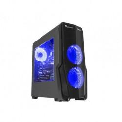 OBUDOWA GENESIS TITAN 800 BLUE MIDI TOWER (Z OKNEM, USB 3.0, BEZ PSU)