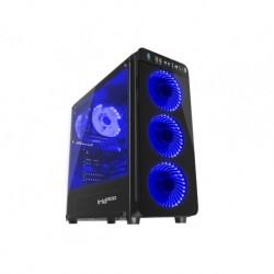 OBUDOWA GENESIS IRID 300 BLUE MIDI TOWER (Z OKNEM, REG. OBR., USB 3.0, BEZ PSU)